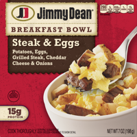 Jimmy Dean® Steak, Egg & Cheese Breakfast Bowl, 7 oz.
