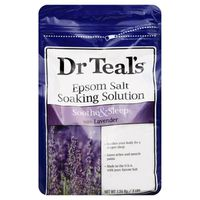 Dr. Teal's Pure Epsom Salt Soaking Solution Soothe & Sleep With Lavender