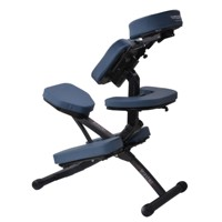 Master Massage Rio Portable Massage Chair With Carrying Case - Agate Blue