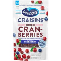 Ocean Spray Dried Cranberries Infused with Blueberry Juice