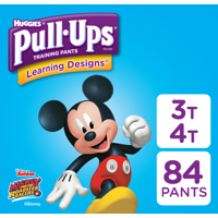 Pull-Ups Boys' Learning Designs Training Pants, Size 3T-4T, 84 Count (Packaging May Vary)