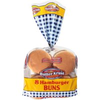 ButterKrust® Hamburger Buns 8 ct Bag