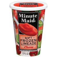 Minute Maid Soft Frozen Cherry Limeade