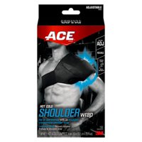 ACE Brand Hot/Cold Shoulder Wrap, Adjustable, Ideal for All Sports