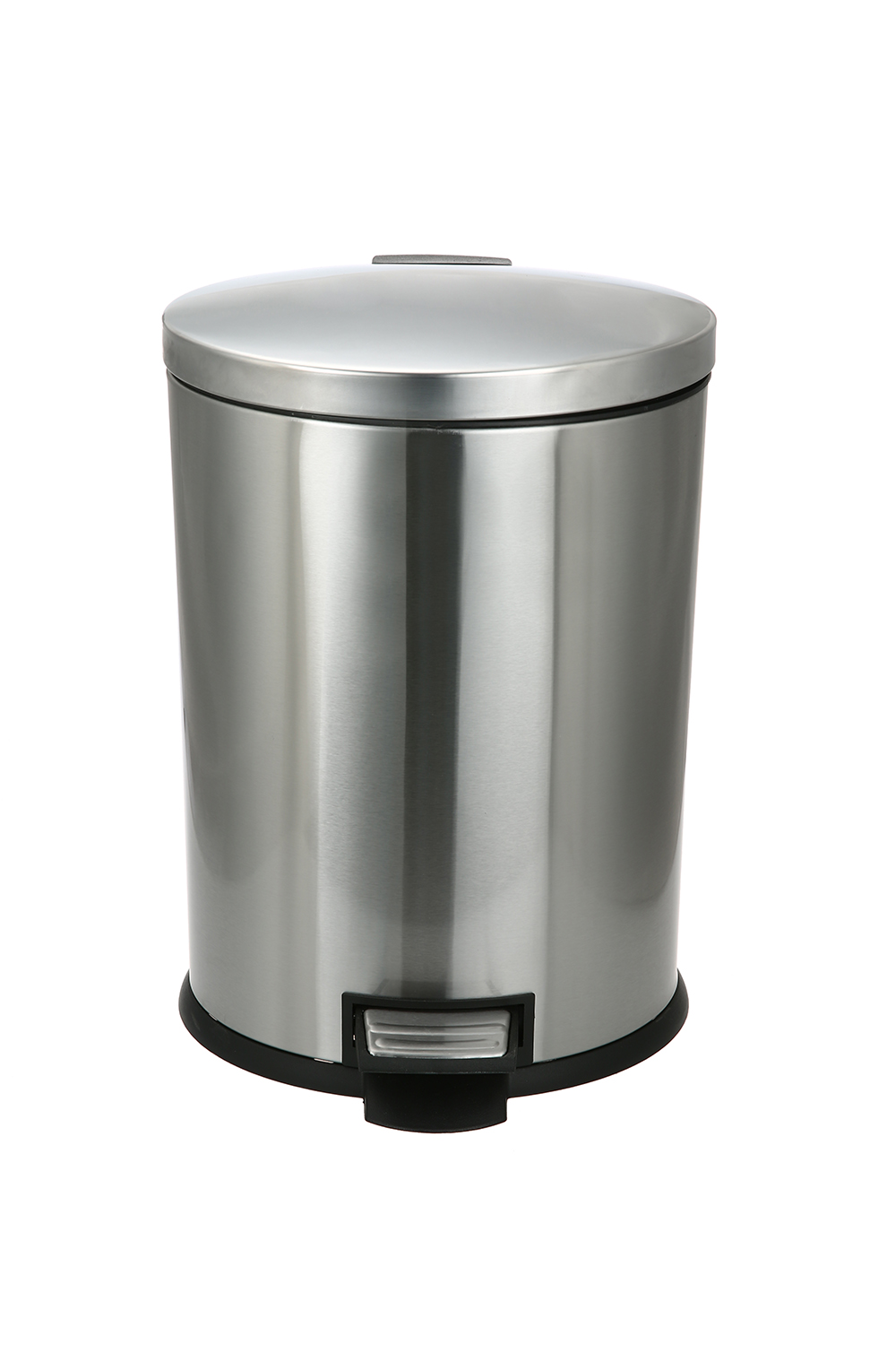 Better Homes & Gardens 3.1 Gal / 12L Oval Step Trash Can, Stainless Steel with Soft Close Lid