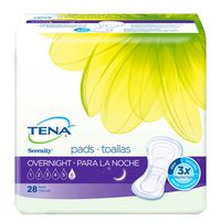 Serenity Incontinence Pads For Women, Overnight