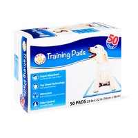 Pet All Star Training Pads, 22 in x 22 in, 50 Count