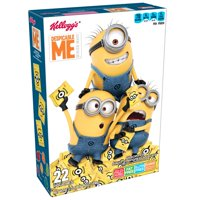 Kellogg's Despicable Me 3 Assorted Fruit Flavored Snacks Pouches 17.6 oz 22 ct