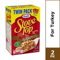 Kraft Stove Top Turkey Stuffing Mix, 2 ct - oz Box