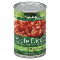 Signature Kitchens Tomatoes, Petite Diced