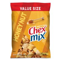 Chex Mix Snack Mix, Sweet and Salty Honey Nut, 15 oz Family Size