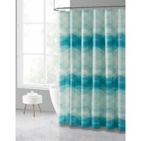 Mainstays Neil PEVA 13-Piece Shower Curtain Bath Set