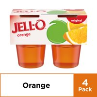 Jell-O Ready to Eat Orange Gelatin, 4 ct - 13.5 oz Package