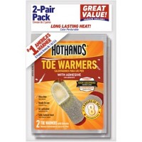 2 Pair Toe Warmers White - HotHands