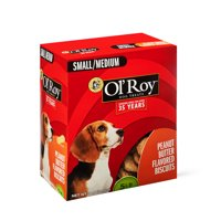 Ol' Roy Peanut Butter Flavored Dog Biscuits, Small/Medium, 5 lbs