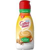 COFFEE MATE Sugar Free Hazelnut Liquid Coffee Creamer 32 Fl. Oz. Bottle | Non-dairy, Lactose-Free Creamer
