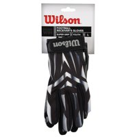 Wilson Receiver Football Gloves, Youth, Large