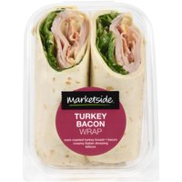 Marketside Turkey Bacon Wrap