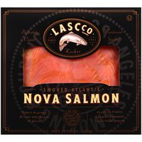 Lascco Salmon, Nova, Smoked Atlantic