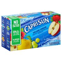 Capri Sun Splash Cooler Mixed Fruit Flavored Juice Drink Blend