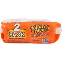 Nature's Own Honey Wheat Bread, 2 x 20 oz