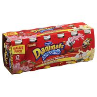 Danimals Strawberry Explosion & Banana Split Variety Pack Smoothies