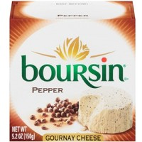 Boursin Pepper Gournay Cheese - 5.2oz