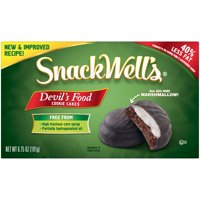 SnackWell's Devil's Food Cookie Cakes, 6.75 Oz.