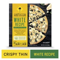 CALIFORNIA PIZZA KITCHEN Crispy Thin Crust Frozen Pizza White Recipe 13.4 oz.