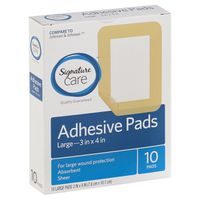 Signature Home Adhesive Pads, Large