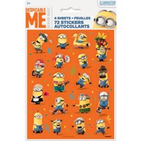 Despicable Me Minions Sticker Sheets, 4ct