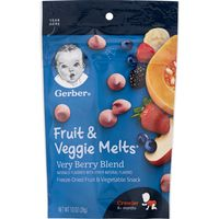 Gerber Freeze-Dried Fruit and Vegetable Snacks