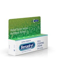 Benadryl Topicals Itch Stopping Cream, Extra Strength