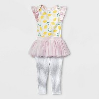 Baby Girls' Oh Honeybee Tutu Set - Cloud Island™ Pink