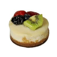 Central Market Mini Cheesecake Topped With Fruit