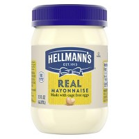 Hellmann's Mayonnaise for Delicious Sandwiches Real Mayo Rich in Omega 3-ALA 15 oz