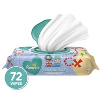 Pampers Baby Wipes Complete Clean Scented 1X Pop-Top 72 Count