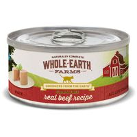 Whole Earth Farms Grain Free Real Beef Recipe Natural Food For Cats