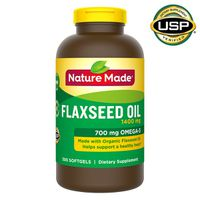 Nature Made Flaxseed Oil 1400 mg Softgels, 300 ct