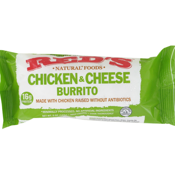 Red S Burrito Chicken Cheddar From Kroger In Dallas Tx Burpy Com