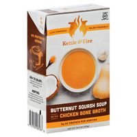 Kettle & Fire Soup, with Chicken Bone Broth, Butternut Squash