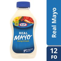 Kraft Real Mayo, 12 fl oz Bottle