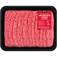 All Natural* 80% Lean/20 % Fat Ground Beef Tray, 4.5 lb