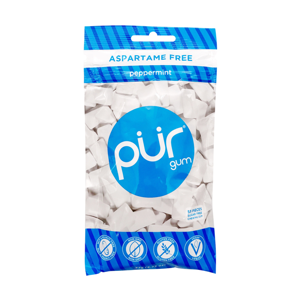 Pur Peppermint Gum, 2.72 oz