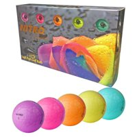 Nitro Golf Golf Balls, Assorted Colors, 15 Pack