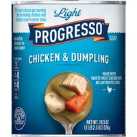 Progresso Soup, Light, Chicken & Dumpling