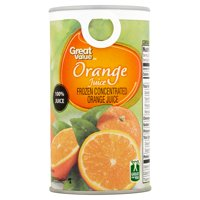 Great Value Frozen Orange Juice, 12 fl oz