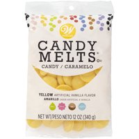 Wilton Candy Melts Yellow Candy, 12 oz