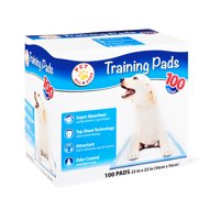 Pet All Star Training Pads, 22 in x 22 in, 100 Count