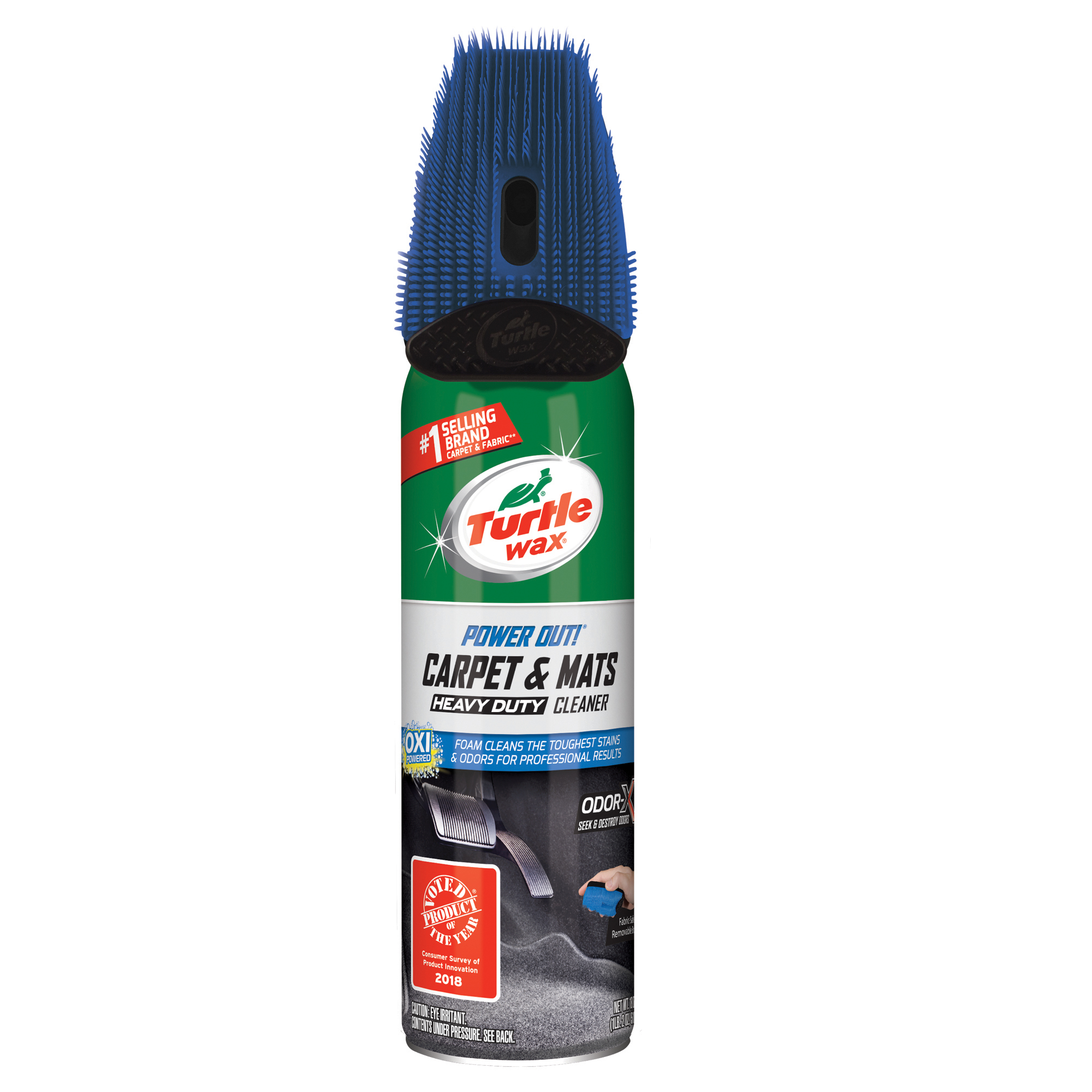 Turtle Wax 50797 Power Out Carpet and Mats Heavy Duty Cleaner, 18oz